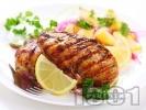 Рецепта Пилешко месо на скара с пикантна марината